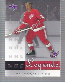 2001-02 Upper Deck Legends #15 Gordie Howe
