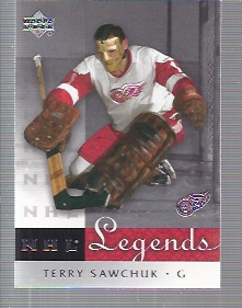 2001-02 Upper Deck Legends #16 Terry Sawchuk