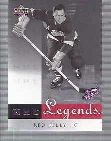 2001-02 Upper Deck Legends #19 Red Kelly