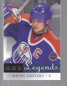 2001-02 Upper Deck Legends #22 Wayne Gretzky