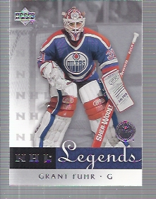 2001-02 Upper Deck Legends #24 Grant Fuhr