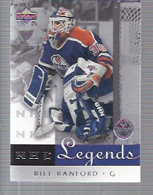 2001-02 Upper Deck Legends #25 Bill Ranford