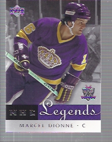 2001-02 Upper Deck Legends #27 Marcel Dionne