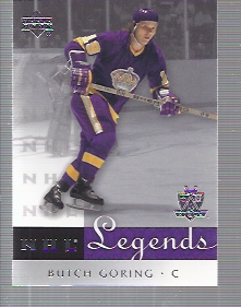 2001-02 Upper Deck Legends #28 Butch Goring