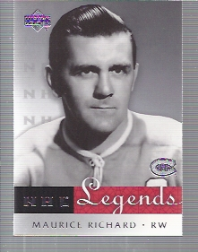 2001-02 Upper Deck Legends #30 Maurice Richard