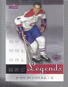 2001-02 Upper Deck Legends #31 Jean Beliveau