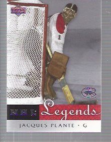 2001-02 Upper Deck Legends #33 Jacques Plante