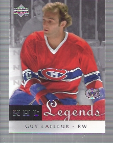 2001-02 Upper Deck Legends #34 Guy Lafleur