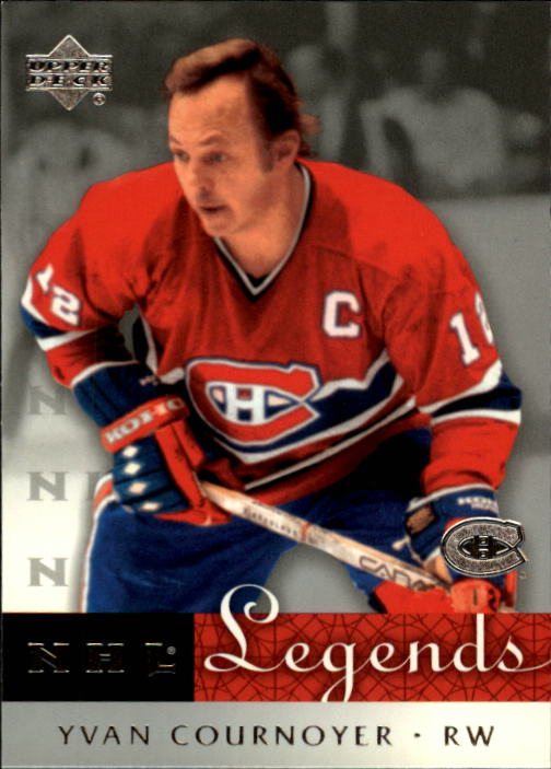 2001-02 Upper Deck Legends #35 Yvan Cournoyer