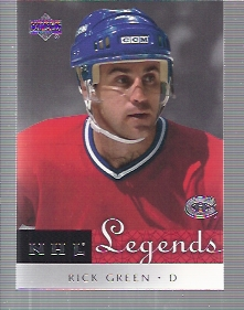 2001-02 Upper Deck Legends #37 Rick Green