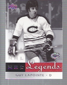 2001-02 Upper Deck Legends #40 Guy Lapointe