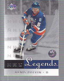 2001-02 Upper Deck Legends #41 Denis Potvin