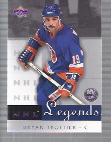 2001-02 Upper Deck Legends #43 Bryan Trottier