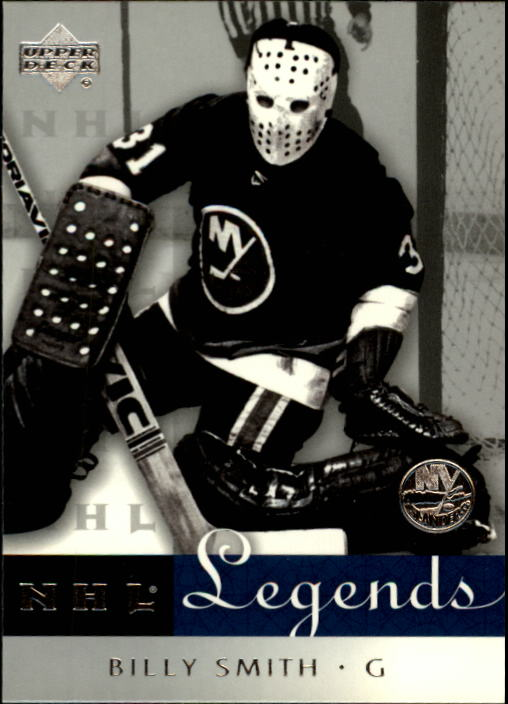 2001-02 Upper Deck Legends #45 Billy Smith