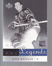 2001-02 Upper Deck Legends #47 Jean Ratelle