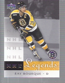 2001-02 Upper Deck Legends #50 Ray Bourque
