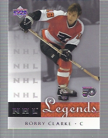 2001-02 Upper Deck Legends #53 Bobby Clarke