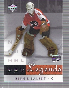 2001-02 Upper Deck Legends #54 Bernie Parent