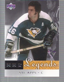 2001-02 Upper Deck Legends #56 Syl Apps