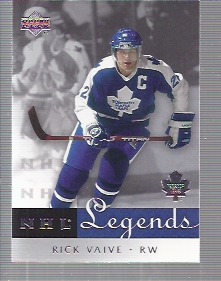 2001-02 Upper Deck Legends #61 Rick Vaive