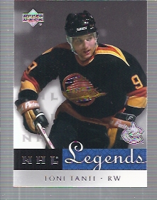 2001-02 Upper Deck Legends #65 Tony Tanti
