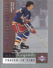 2001-02 Upper Deck Legends #73 Barry Beck