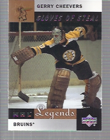 2001-02 Upper Deck Legends #79 Gerry Cheevers