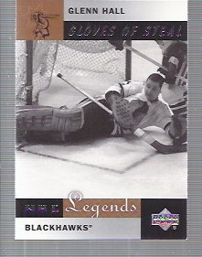2001-02 Upper Deck Legends #80 Glenn Hall