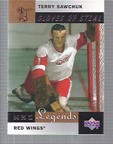 2001-02 Upper Deck Legends #81 Terry Sawchuk