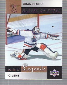 2001-02 Upper Deck Legends #82 Grant Fuhr