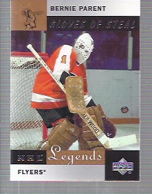 2001-02 Upper Deck Legends #83 Bernie Parent