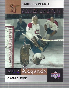 2001-02 Upper Deck Legends #84 Jacques Plante