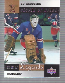 2001-02 Upper Deck Legends #85 Ed Giacomin