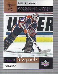 2001-02 Upper Deck Legends #86 Bill Ranford