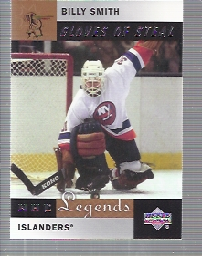 2001-02 Upper Deck Legends #87 Billy Smith
