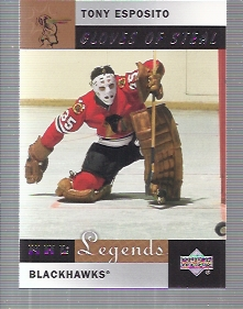2001-02 Upper Deck Legends #88 Tony Esposito