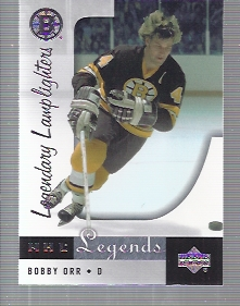 2001-02 Upper Deck Legends #89 Bobby Orr