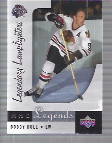 2001-02 Upper Deck Legends #90 Bobby Hull