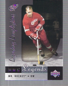 2001-02 Upper Deck Legends #91 Gordie Howe