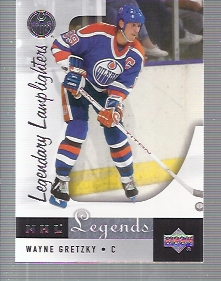 2001-02 Upper Deck Legends #92 Wayne Gretzky