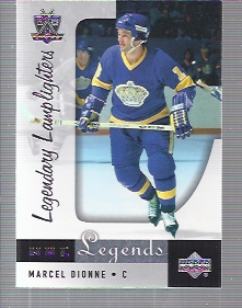 2001-02 Upper Deck Legends #93 Marcel Dionne