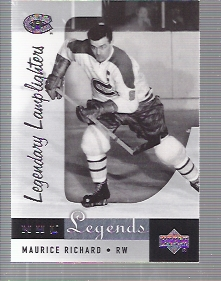2001-02 Upper Deck Legends #94 Maurice Richard