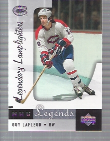 2001-02 Upper Deck Legends #95 Guy Lafleur
