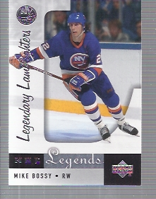 2001-02 Upper Deck Legends #96 Mike Bossy