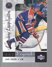 2001-02 Upper Deck Legends #97 Jari Kurri