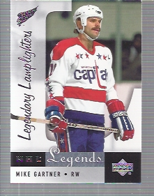 2001-02 Upper Deck Legends #98 Mike Gartner