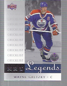 2001-02 Upper Deck Legends #100 Wayne Gretzky CL