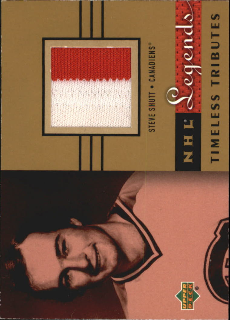 2001-02 Upper Deck Legends Timeless Tributes Jerseys #TTSS Steve Shutt