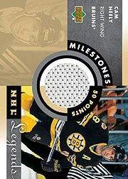 2001-02 Upper Deck Legends Milestones Jerseys #MCN Cam Neely