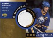 2001-02 Upper Deck Legends Milestones Jerseys #MGP Gilbert Perreault